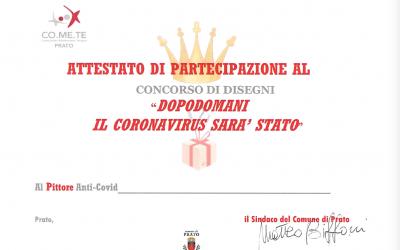Il Sindaco di Prato premia i bambini del Concorso Co.Me.Te